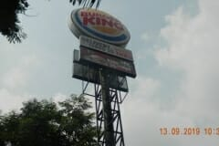 jasa-rope-access-cuci-pole-sign-burger-king-03