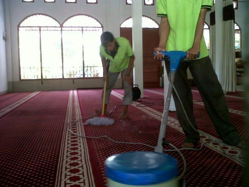 Cuci karpet masjid Baiturrahman | Jasa Cuci Karpet Masjid