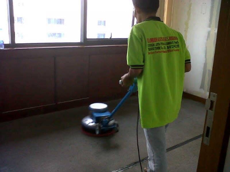 cuci karpet PT. Konet Indonesia