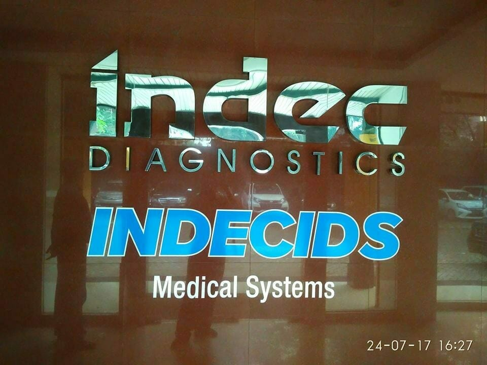 Epoxy lantai PT Indec Diagnostics | Jasa Epoxy Lantai