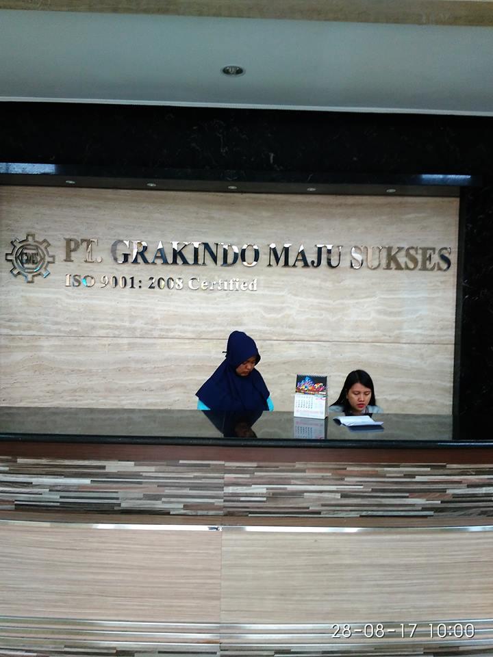 Cuci Kaca Gedung PT Grakindo | Jasa Pembersih Kaca Gedung