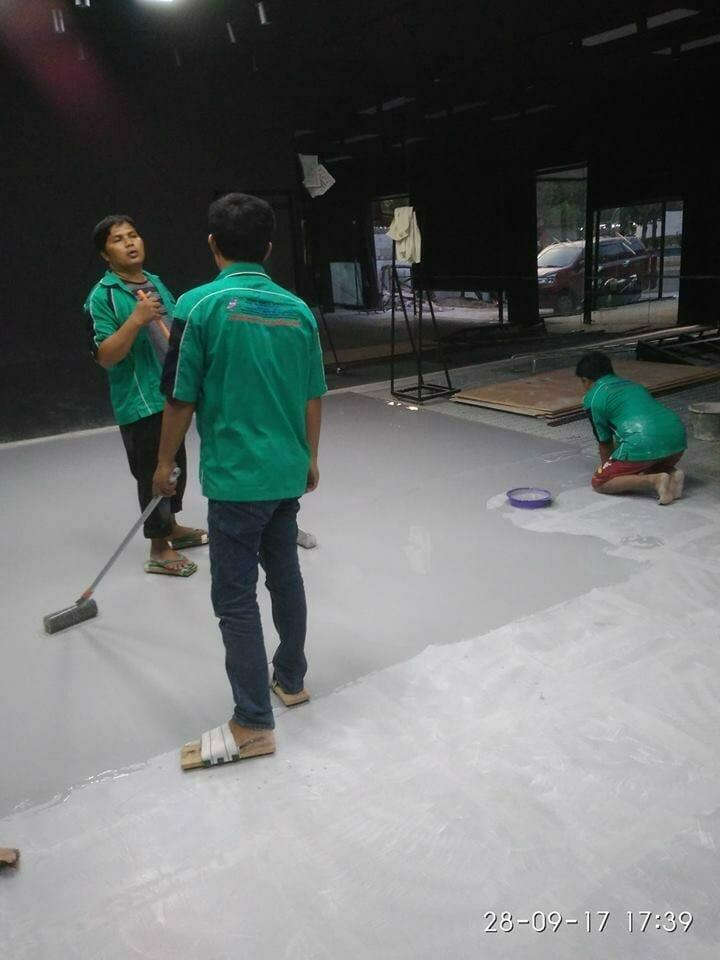 Epoxy lantai bengkel di Pluit Permai | Jasa Epoxy Lantai