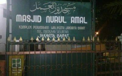 Cuci Karpet Masjid Nurul Amal Perumahan Karyawan Walikota Jakarta Barat