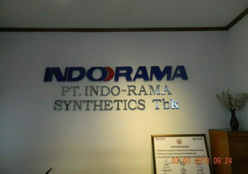 Cuci Karpet PT Indorama Synthetics Tbk Purwakarta