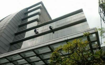Pembersih Gedung Oria Hotel Jakarta Pusat Progress Hari Ke-5