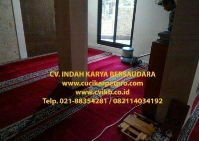 cuci karpet mesjid al-furqon-11