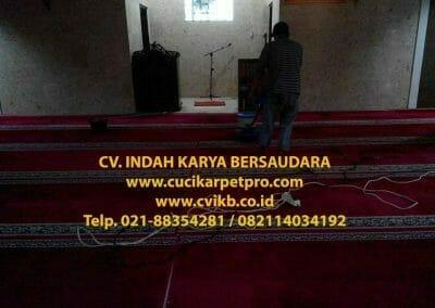 cuci karpet mesjid al-furqon-12
