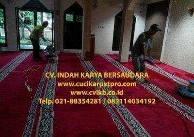 cuci karpet mesjid al-furqon-13