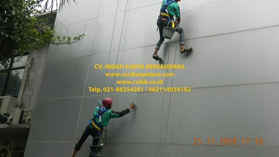 Pembersih Kaca Gedung | Cat Gedung BPJS Jakarta Cilandak