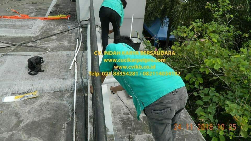 Pengecatan Gedung | Pembersih Kaca Gedung BPJS Cilandak