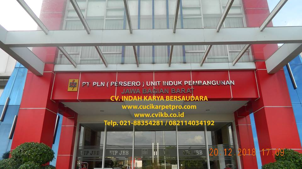 Pembersih Kaca Gedung | Cuci Kaca PLN UIP JBB Gandul Cinere