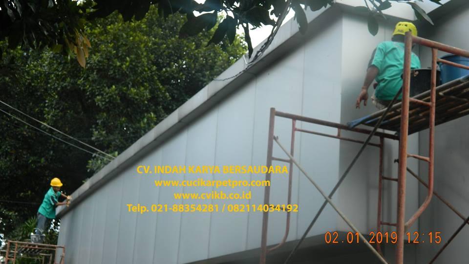Cuci Kaca Gedung | Pembersih Kaca Gedung PLN UIP JBB Gandul