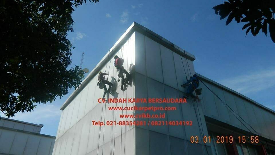 Pembersih Kaca Gedung | Cuci Kaca Gedung PLN UIP JBB