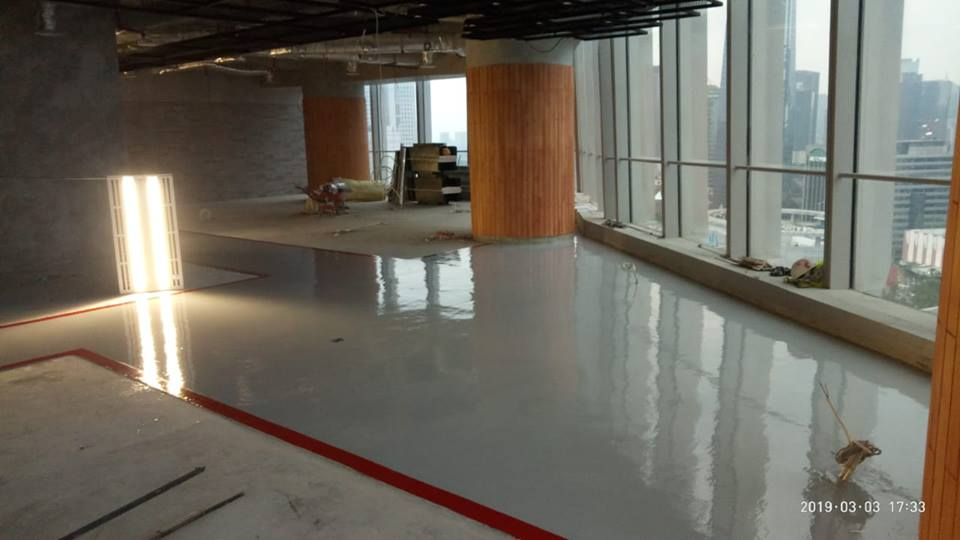 Epoxy Lantai | Jasa General Cleaning Telkom Landmark Tower