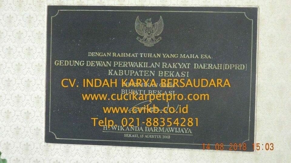 Jasa General Cleaning | Cuci Lantai Gedung DPRD Bekasi