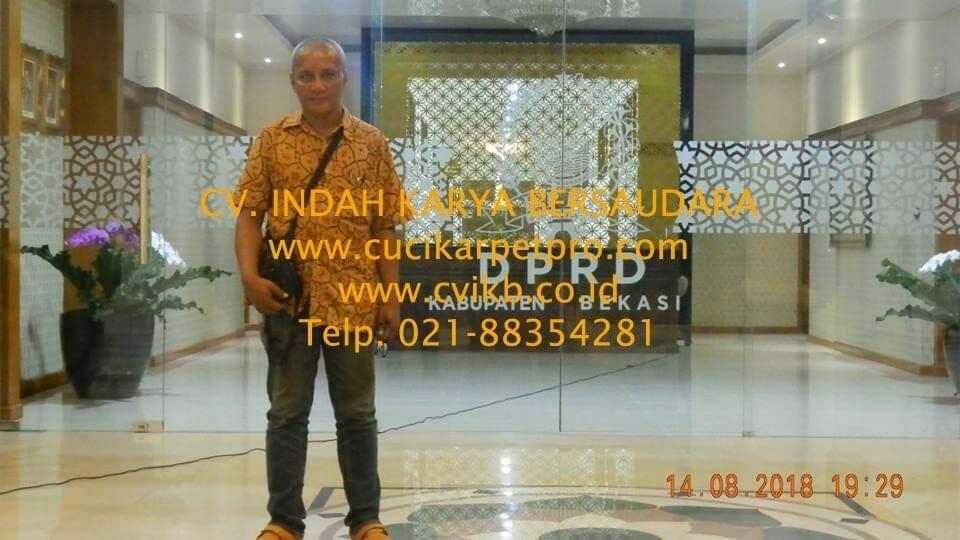 jasa general cleaning cuci lantai gedung dprd bekasi 03