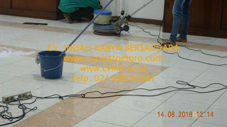 jasa general cleaning cuci lantai gedung dprd bekasi 06