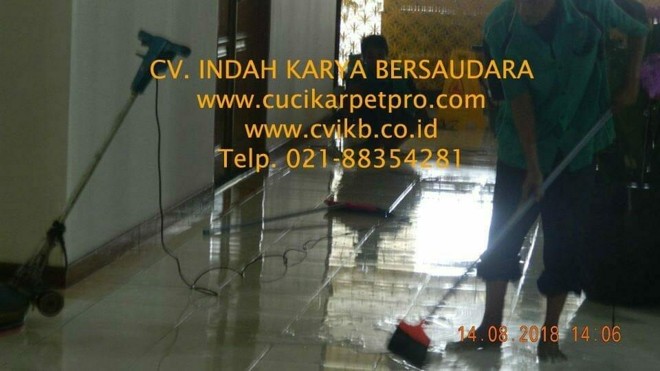 jasa general cleaning cuci lantai gedung dprd bekasi 21