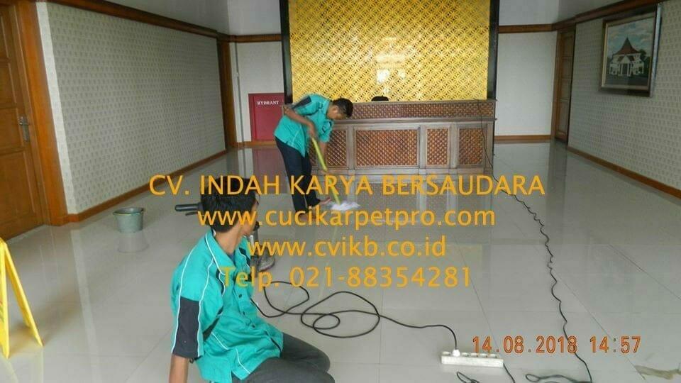 jasa general cleaning cuci lantai gedung dprd bekasi 25