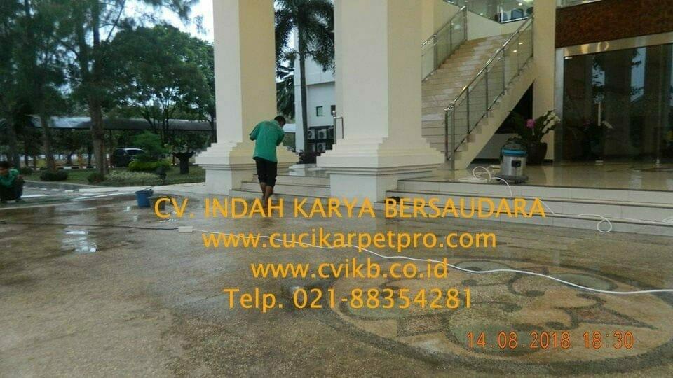 jasa general cleaning cuci lantai gedung dprd bekasi 30