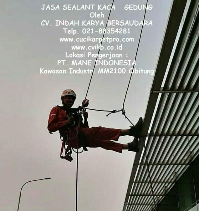 Jasa Sealant Kaca Gedung Di Kawasan Industri MM2100 Cibitung