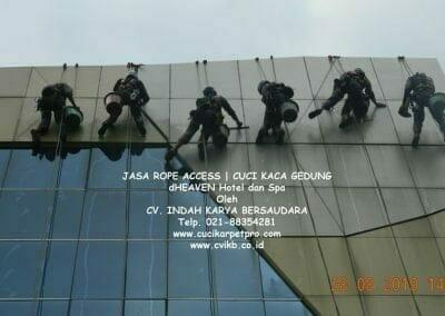 jasa-rope-access-dheaven-hotel-dan-spa-11