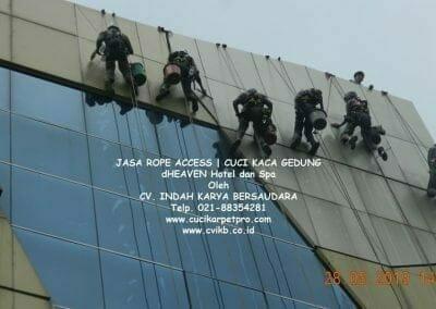 jasa-rope-access-dheaven-hotel-dan-spa-14