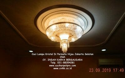 Cuci Lampu Kristal Di Permata Hijau Jakarta Selatan