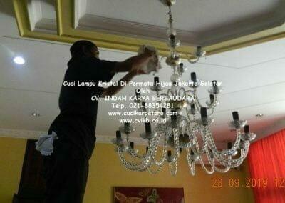 cuci-lampu-kristal-di-permata-hijau-17