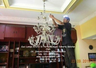cuci-lampu-kristal-di-permata-hijau-19