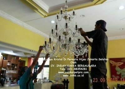 cuci-lampu-kristal-di-permata-hijau-34