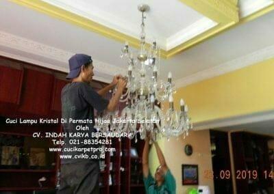 cuci-lampu-kristal-di-permata-hijau-35