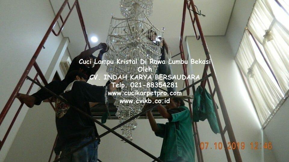 Cuci Lampu Kristal Di Rawa Lumbu Bekasi