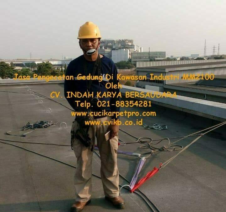 Jasa Pengecatan Gedung Di Kawasan Industri MM2100 Cibitung