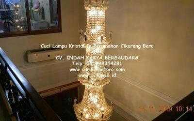 Cuci Lampu Kristal Di Perumahan Cikarang Baru