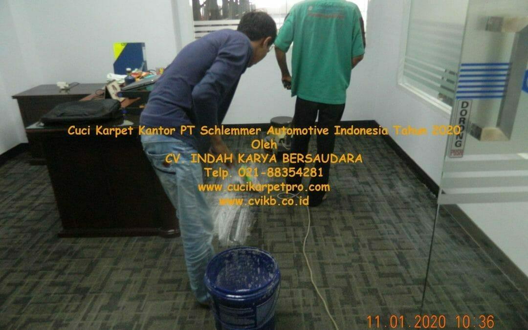 Cuci Karpet Kantor PT Schlemmer Automotive Indonesia