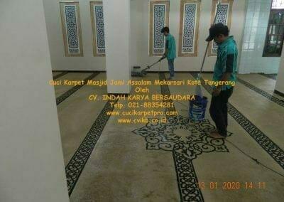 cuci-karpet-masjid-jami-assalam-mekarsari-34