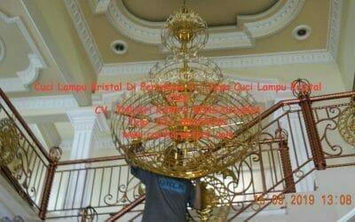 Cuci Lampu Kristal Di Perumnas 3 | Jasa Cuci Lampu Kristal