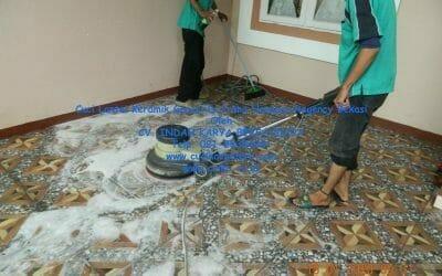 Cuci Lantai Keramik Garasi Di Prima Harapan Regency Bekasi