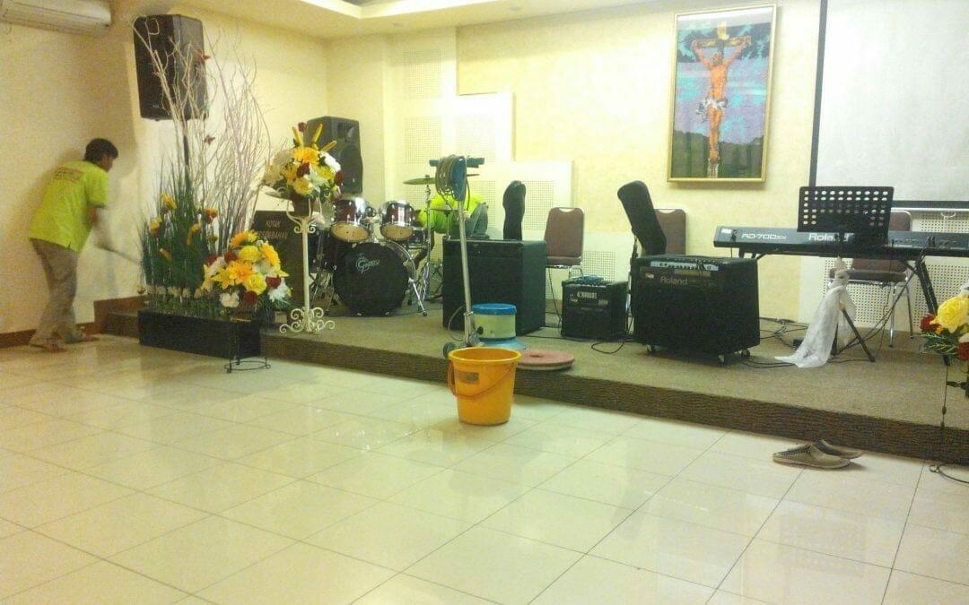 Cuci karpet gereja GPDI | jasa cuci karpet andal Jabodetabek