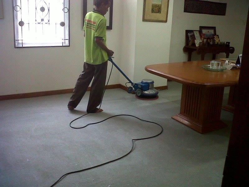 Cuci karpet kantor PT Biru and Sons | jasa cuci karpet