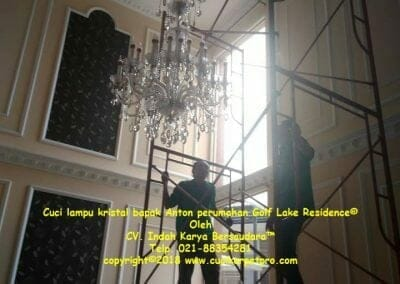 cuci-lampu-kristal-bapak-anton-perumahan-golf-lake-residence-03