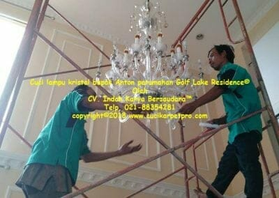 cuci-lampu-kristal-bapak-anton-perumahan-golf-lake-residence-09