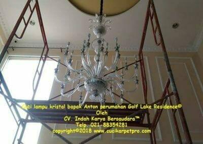 cuci-lampu-kristal-bapak-anton-perumahan-golf-lake-residence-14