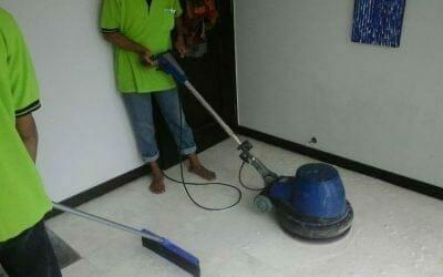 Poles lantai marmer Mr Brandon | jasa cuci lantai terdekat