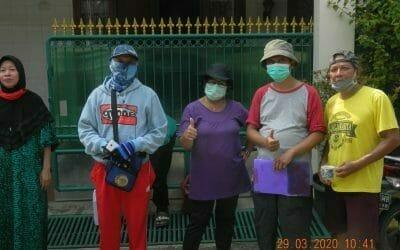 Penyemprotan Disinfektan RT 09|10|11 RW 10 Perum Duren Jaya