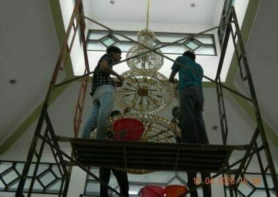 cuci-lampu-kristal-masjid-baiturrahman-38
