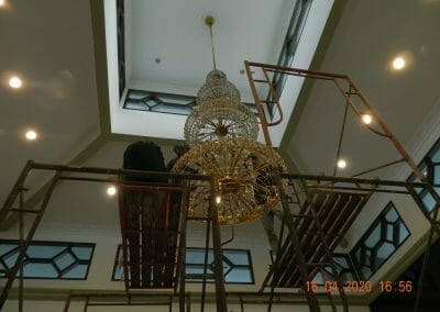 cuci-lampu-kristal-masjid-baiturrahman-41