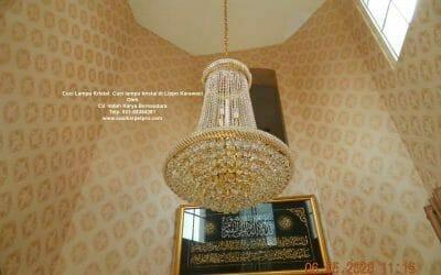 Cuci Lampu Kristal: Cuci lampu kristal di Lippo Karawaci
