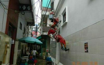 Jasa pengecatan gudang di Gang Kodok Pasar Petak Sembilan